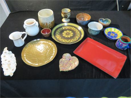 Assorted Pottery Lot