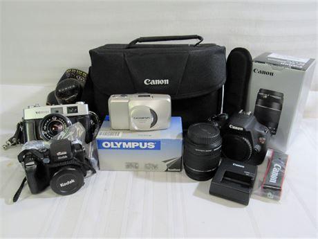 Large Camera Lot