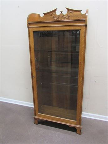 NICE ANTIQUE CURIO/DISPLAY CABINET