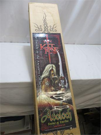 United Cutlery Limited Edition Kit Rae Avoloch Sword of Enetha