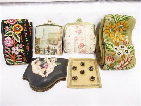 LOT OF VINTAGE ACCESSORIES