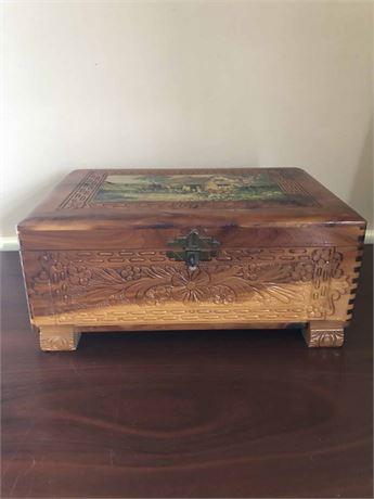 Dovetail Jewelry Box