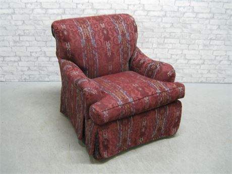 ETHAN ALLEN UPHOLSTERED OCCASIONAL CHAIR