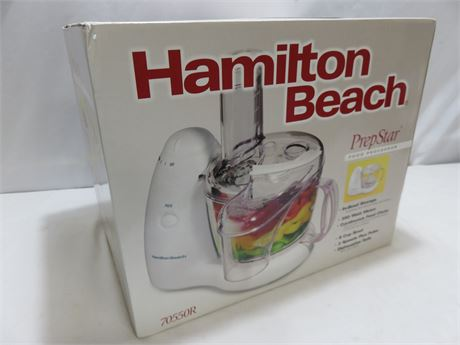 HAMILTON BEACH PrepStar Food Processor