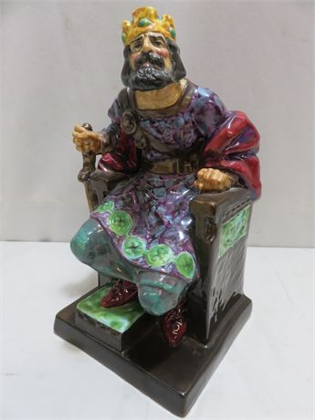 "ROYAL DOULTON ""The Old King"" Figurine"