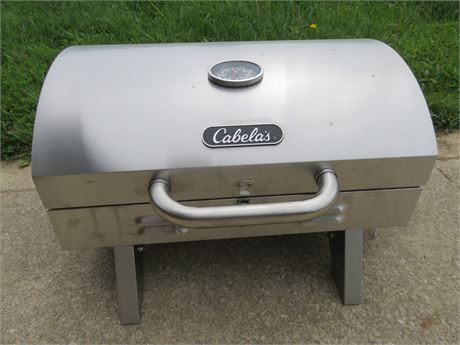 CABELA'S Stainless Steel Tabletop Propane Grill