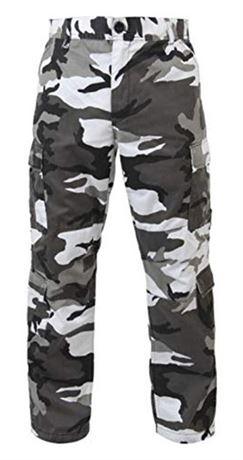 ROTHCO City Camo Tactical BDU Pants - Size XL