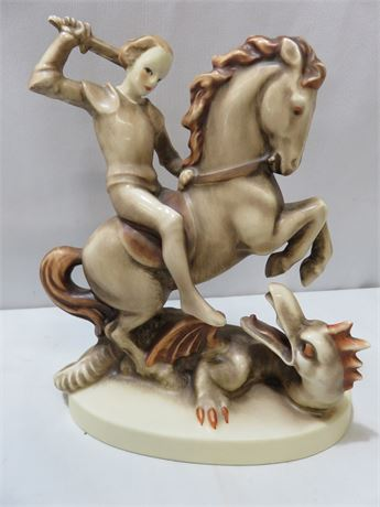 HUMMEL St. George The Dragon Slayer Figurine