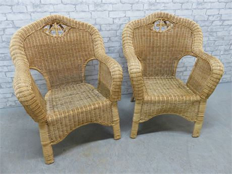 Matching Wicker Chairs