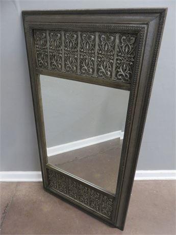 Beveled Glass Wall Mirror
