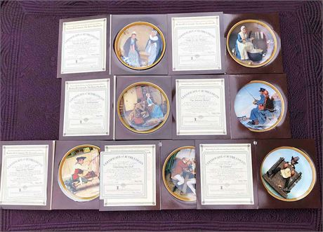 Norman Rockwell's Colonials Series Collection