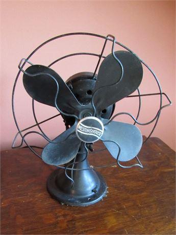 Antique Westinghouse Oscillating Fan