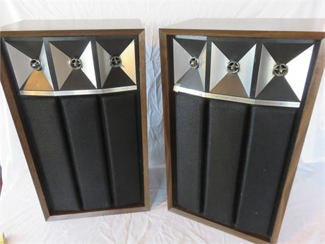 Vintage Air-Suspension Quadra-Linear Horn System Speakers