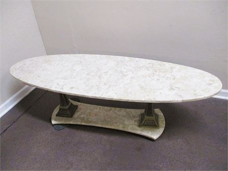 MARBLE SURFBOARD COFFEE TABLE
