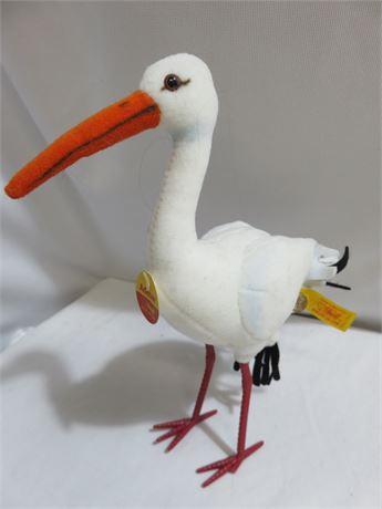 """STEIFF """"Adebar"""" Plush Stork"""