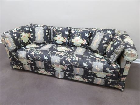 Vintage DREXEL Asian Sofa