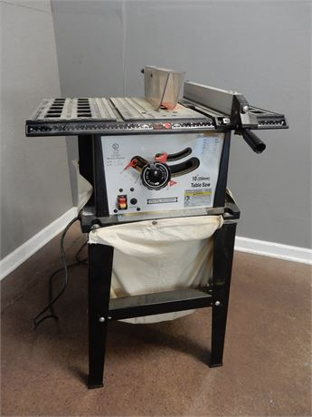 """10"""" Table Saw Central Machinery"""