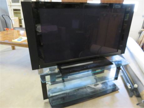 PIONEER PRO-150FD 60-inch Elite HD Plasma TV with Glass Media Stand