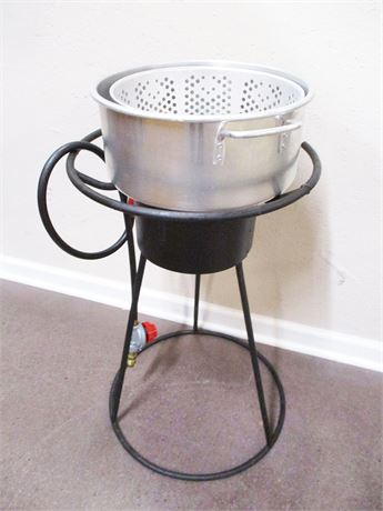 CUSTOM PROPANE BURNER/FRYER