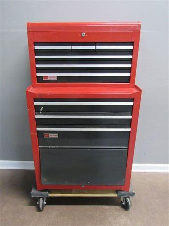 Nice 2-Piece Craftsman Tool Box
