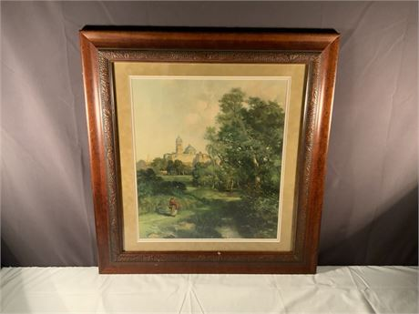 Moran 1905 Original Framed Art