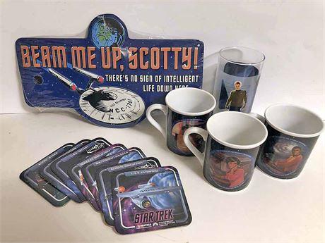 Star Trek Mug & Coaster Set