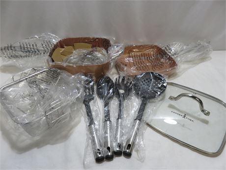 COPPER CHEF PRO 8-Piece Heavy Duty Cookware Set