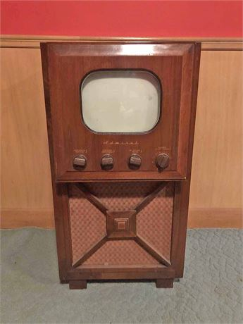 Mid Century Admiral Television