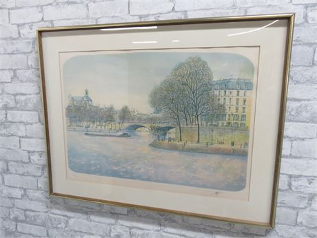 Limited Edition Framed Lithograph Print (Signed)
