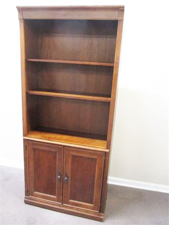 BEAUTIFUL BOOKCASE WITH CLOSED STORAGE
