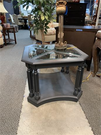 One of a Kind Hand Painted Table