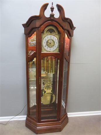 RIDGEWAY Grandfather Clock Curio