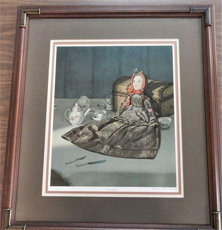 """Bonnie Marie Chumley """"The Tea Party"""" Framed Wall Art"""