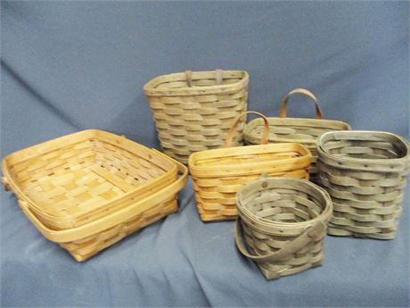 LOT OF LONGABERGER BASKETS