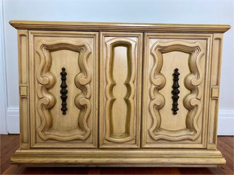 Marble Top Buffet Cabinet