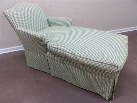 Gingham Chaise