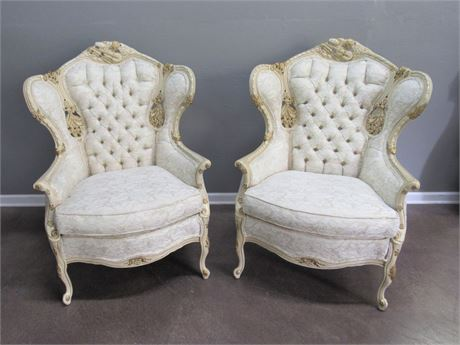 Chateau Chambord Furniture Guild Versailles Collection French Provincial Chairs