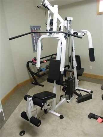 "PARABODY ""SERIOUS STEEL"" 350 HOME GYM"