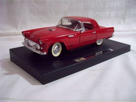 1:18 SCALE REVELL DIECAST - 1955 THUNDERBIRD WITH BOX