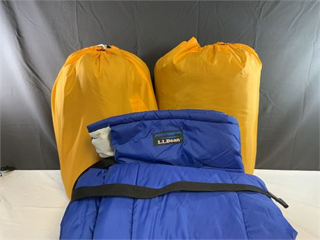 (3) L.L.Bean Sleeping Bags
