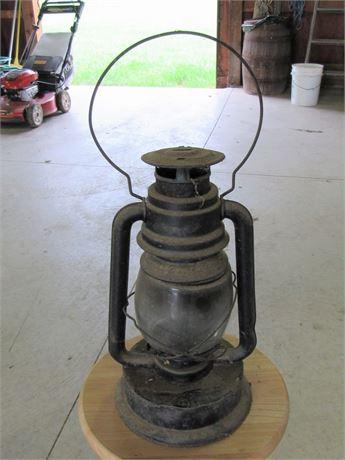 Vintage/Antique Atlantic Kerosene Barn Lantern