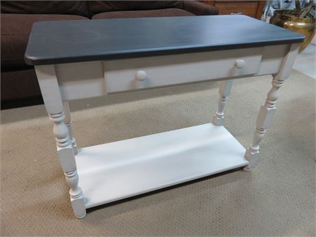 Hand-Painted Sofa Table