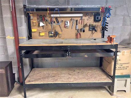 Large Work Station w/Tools