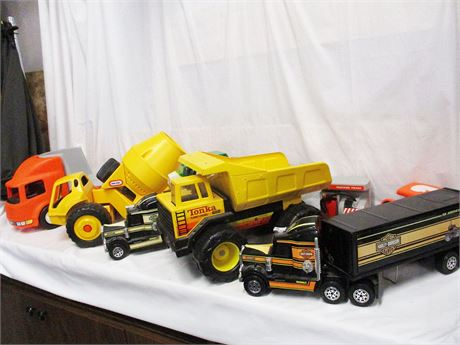 LOT OF TOYS FEATURING LITTLE TIKES AND TONKA