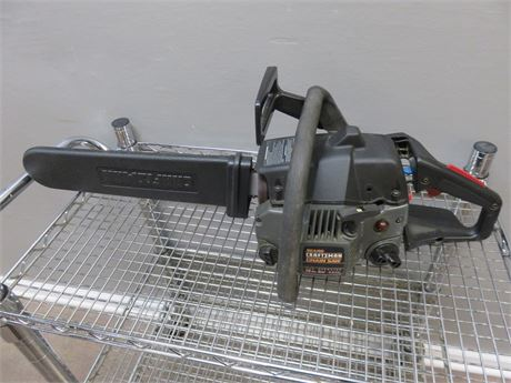 CRAFTSMAN Gas Powered Chain Saw