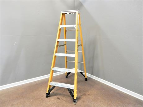 Werner Six Foot Aluminum Ladder