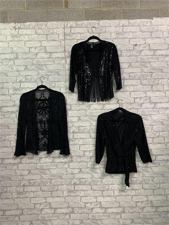 Lot of 3  Black Formal Jackets