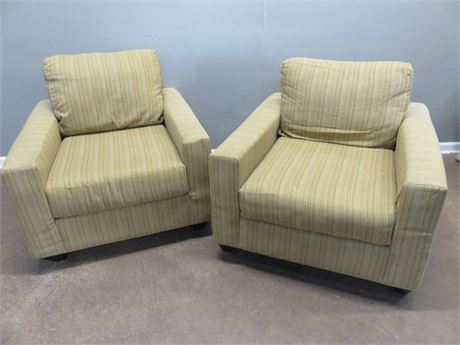 PIER 1 Mid-Century Style Arm Chairs