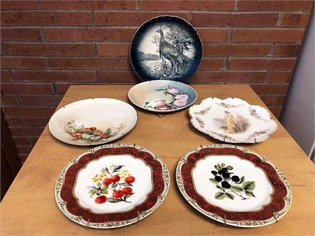 Vintage Display Plate Collection