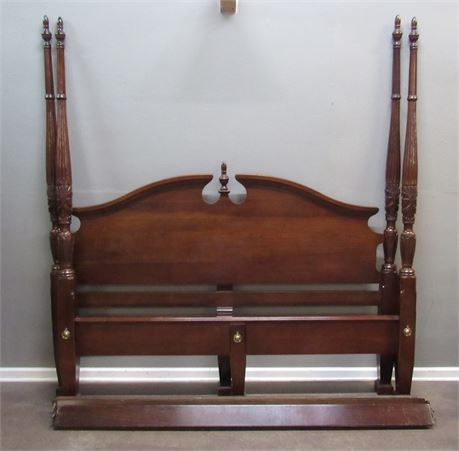 Chippendale Style 4-Poster King Size Bed